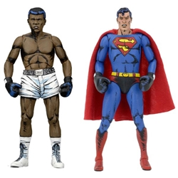 NECA Superman vs Muhammad Ali 2-pack NECA, Superman, Action Figures, 2017, superhero, comic book