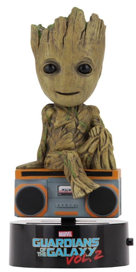 NECA Guardians of the Galaxy 2 Body Knocker - Groot (with boombox) NECA, Guardians of the Galaxy, Bobble-Heads, 2017, scifi, movie