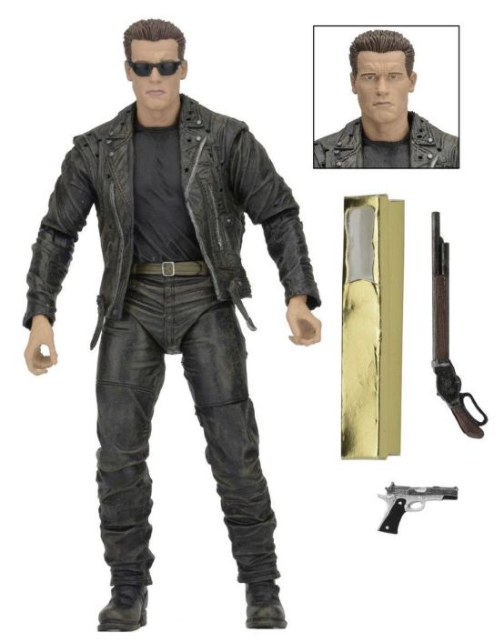 NECA Terminator 2 3D 7 inch  Figure - T-800 NECA, Terminator, Action Figures, 2017, scifi, movie