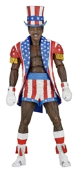 NECA Rocky IV Figure - Apollo Creed  (patriotic) NECA, Rocky, Action Figures, 2017, sports, movie