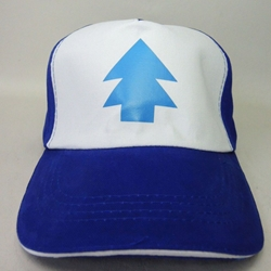 Gravity Falls Dipper Pines canvas cap China, Gravity Falls, Hats, 2016|Color~blue|Color~white, adventure, cartoon