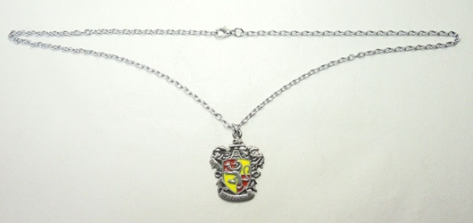 Harry Potter alloy pendant necklace - Crest of Gryffindor China, Harry Potter, Necklace, 2015|Color~yellow|Color~red|Color~pewter, fantasy, book