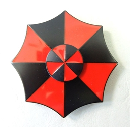 Resident Evil metal alloy Fidget Spinner - Umbrella Corp Logo China, Biohazard, Spinner, 2017|Color~black|Color~red, scifi, video game