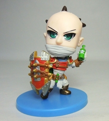 League of Legends 3 inch Figure - Singed The Mad Chemist (bald) 068 China, League of Legends, Action Figures, 2016, anime, video game