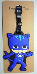 PJ Masks Soft Plastic Luggage Tag - Catboy (blue) China, PJ Masks, Luggage Tag, 2017|Color~blue, kidfare, cartoon