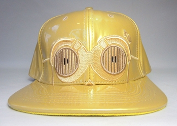 Star Wars cap with C3PO eyes (re-issue) China, Star Wars, Hats, 2017|Color~golden, scifi, movie