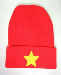 Steven Universe red beanie hat China, Steven Universe, Hats, 2017|Color~red, family, cartoon