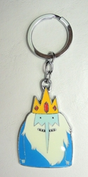 Adventure in Time alloy keychain - Ice King China, Adventure in Time, Keychains, 2017|Color~blue|Color~white, kidfare, cartoon