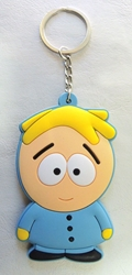 South Park 3 inch soft plastic keychain - Butters China, South Park, Keychains, 2016|Color~yellow|Color~blue|Color~fleshtone, comedy, cartoon