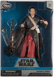 Star Wars Die-Cast Figure - Chirrut Imwe 6.5 inch  Disney Lucasfilm, Star Wars, Action Figures, 2016, scifi, movie