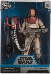 Star Wars Die-Cast Figure - Baze Malbus  6.5 inch Disney Lucasfilm, Star Wars, Action Figures, 2016, scifi, movie
