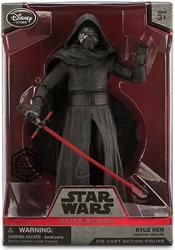 Star Wars Die-cast Figure - Kylo Ren 7.3 inch Disney Lucasfilm, Star Wars, Action Figures, 2016, scifi, movie