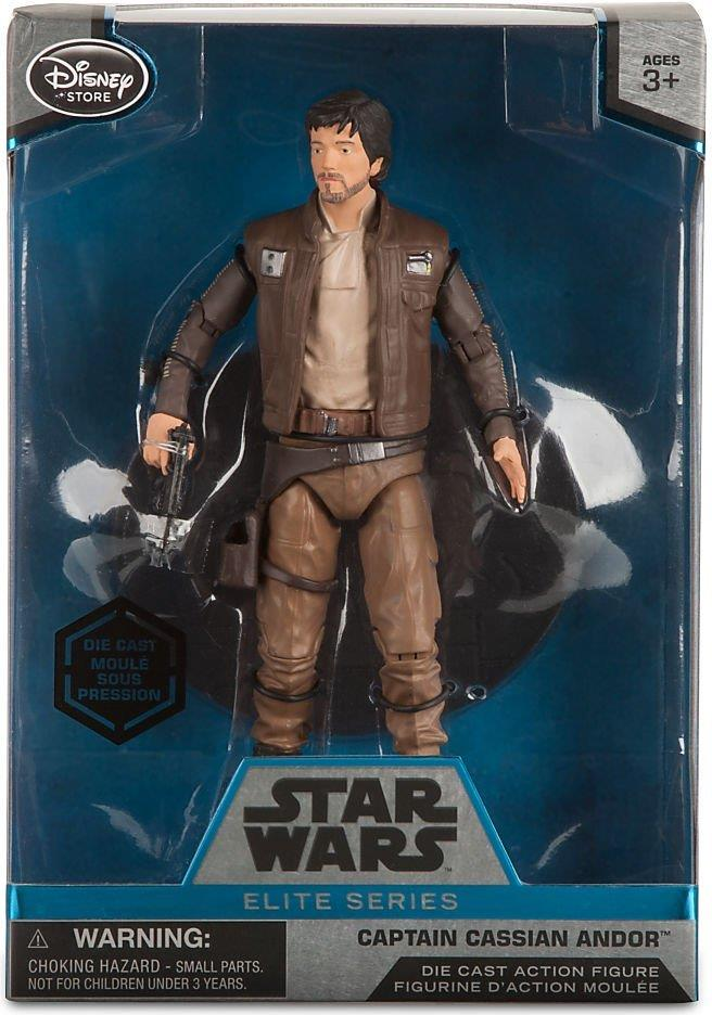 Star Wars Die-cast Figure - Captain Cassian Andor  6.5 inch  Disney, Star Wars, Action Figures, 2016, scifi, movie