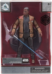 Star Wars Die-cast Figure - Finn with Lightsaber 6.5 inch Disney Lucasfilm, Star Wars, Action Figures, 2016, scifi, movie