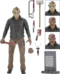 NECA Friday the 13th 7 inch Figure - Ultimate Part 4 Jason NECA, Friday the 13th, Action Figures, 2005, horror, halloween, movie