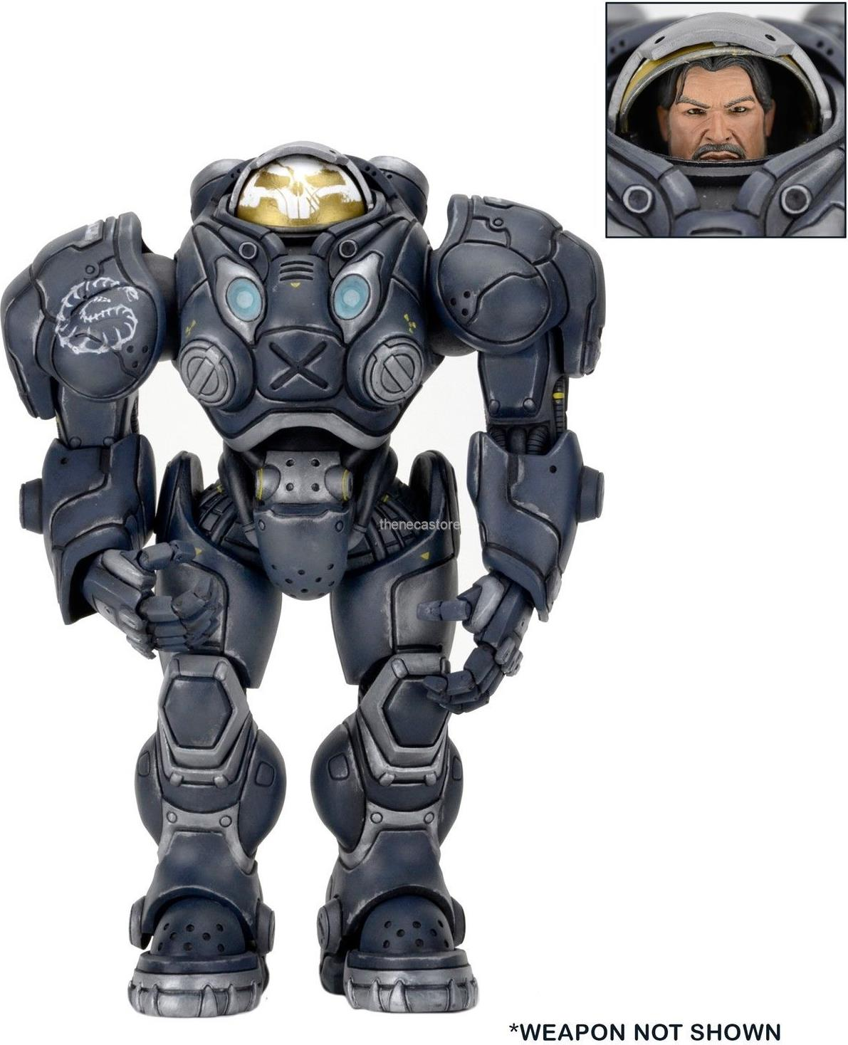 NECA Heroes of the Storm 7 inch Figure - Raynor