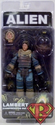 NECA Alien 7 inch Figure - Joan Lambert (Compression Suit) NECA, Alien, Action Figures, 2017, scifi, movie