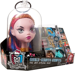 Just Play Monster High - Gore-geous Ghoul Anti-Styling Head (pink) Just Play, Monster High, Dolls, 2015, teen, fashion, movie
