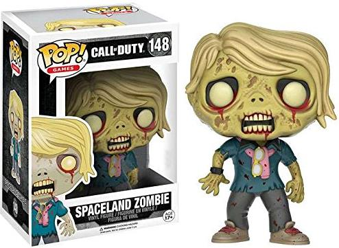 Funko POP! Call of Duty 4 inch Figure - 148 Spaceland Zombie Funko POP!, Call of Duty, Action Figures, 2016, military, video game