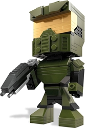 Mega Bloks Kubros  Halo 5 inch Figure - Master Chief Mega Bloks Kubros , Halo, Action Figures, 2015, scifi, video game