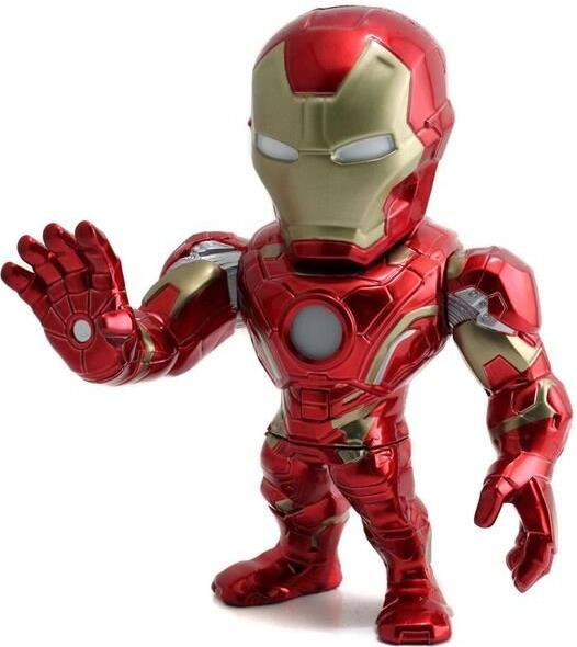 Jada Toys Metals Captain America Civil War 6 inch Figure - M55 Iron Man  Jada Toys Metals, Captain America Civil War, Action Figures, 2016