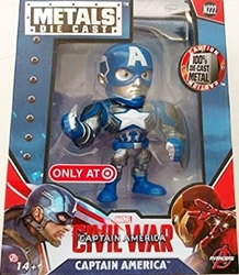 Jada Toys Metals Captain America Civil War 4 inch Figure - M222 Captain America  Jada Toys Metals, Captain America Civil War, Action Figures, 2016
