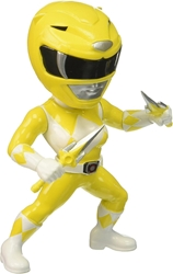 Jada Toys Metals Power Rangers 4 inch Figure - M404 Yellow Ranger Jada Toys Metals, Power Rangers, Action Figures, 2017, scifi, tv show