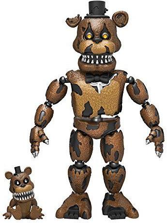 Funko 2016 Five Nights at Freddys 5 inch Figure - Nightmare Freddy Funko, Five Nights at Freddys, Action Figures, 2016, horror, halloween, video game