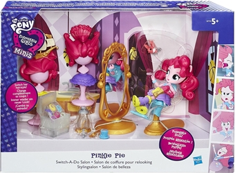 Hasbro 2016 My Little Pony - Equestria Girls Minis Pinkie Pie Switch-A-Do Salon Hasbro, My Little Pony, Littlest Pet Shop, 2016, cute animals