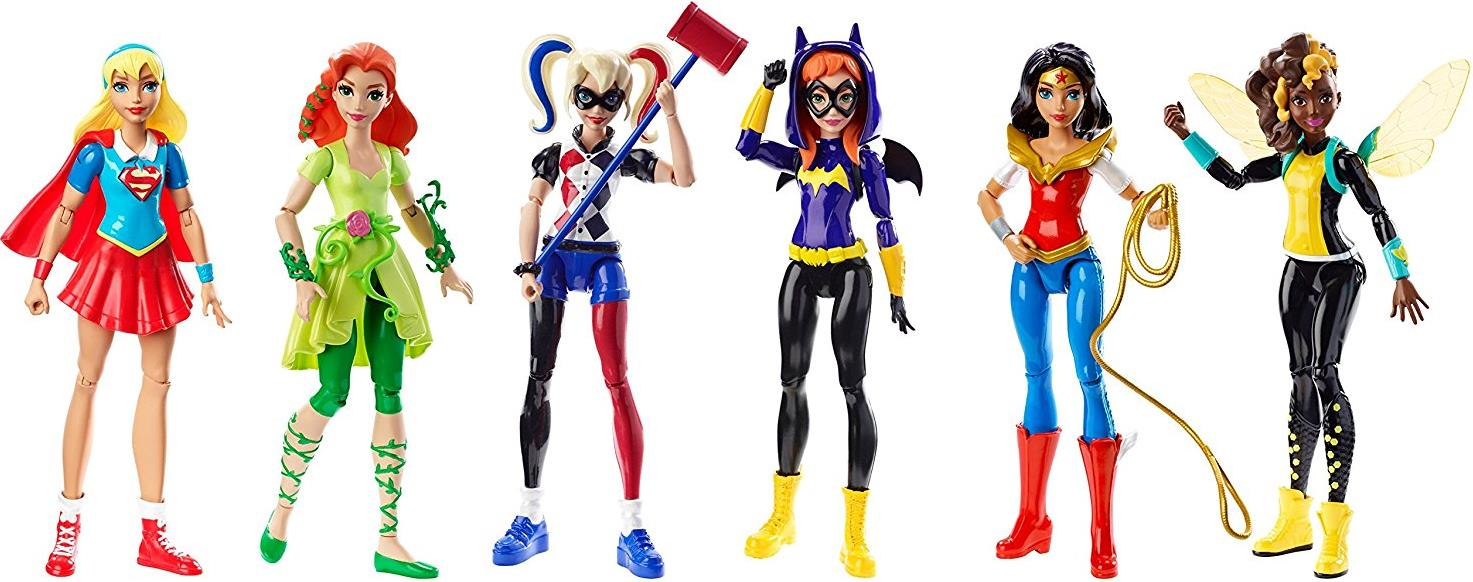 DC Super Hero Girls 6 inch Figure - Ultimate Collection 6-Pack