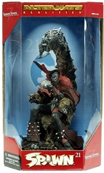 McFarlane 2002 Spawn 9 inch Figure - Spawn VII (on throne) McFarlane, Spawn, Action Figures, 2002, superhero, comic book