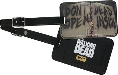 Walking Dead Luggage Tag - Dont Open Dead Inside AMC, Walking Dead, Luggage Tag, 2015, horror, halloween, tv show