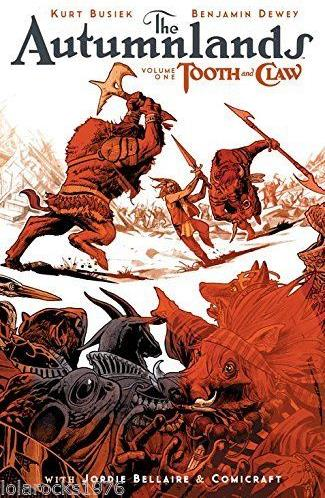 Image 2001 The Autumnlands 184 pages Volume 1 Tooth and Claw Trade Image, The Autumnlands, Comic Books, 2001