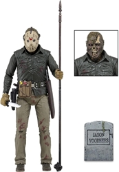 NECA Friday the 13th 7.5 inch Ultimate Figure - Jason Lives NECA, Friday the 13th, Action Figures, 2017, horror, halloween, movie