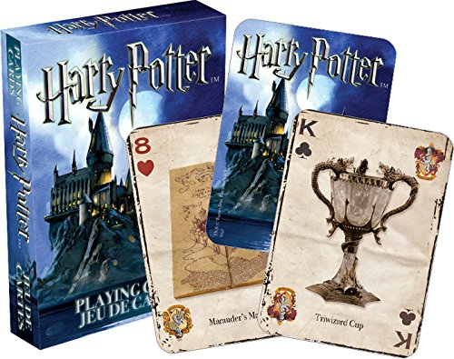 Harry Potter - Deck of 52 magical Playing Cards Aquarius, Harry Potter, games, 2015, fantasy, book