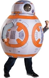 Star Wars BB-8 inflateable child costume - For ages 5-7 Rubies Costume, Star Wars, Cosplay, 2017, scifi, movie