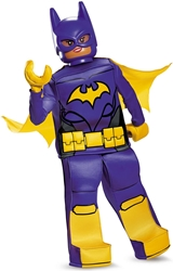 Lego Costume - Batgirl Size L/G (10-12) Disguise, Lego, Cosplay, 2017, kidfare, movie