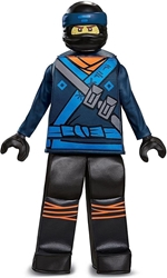 Lego Costume - Ninjago Movie Jay  Size M (7-8) Disguise, Lego, Cosplay, 2017, kidfare, movie
