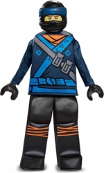 Lego Costume - Ninjago Movie Jay  Size S/P (4-6) Disguise, Lego, Cosplay, 2017, kidfare, movie