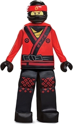 Lego Costume - Ninjago Movie Kai  Size S/P (4-6) (red) Disguise, Lego, Cosplay, 2017, kidfare, movie