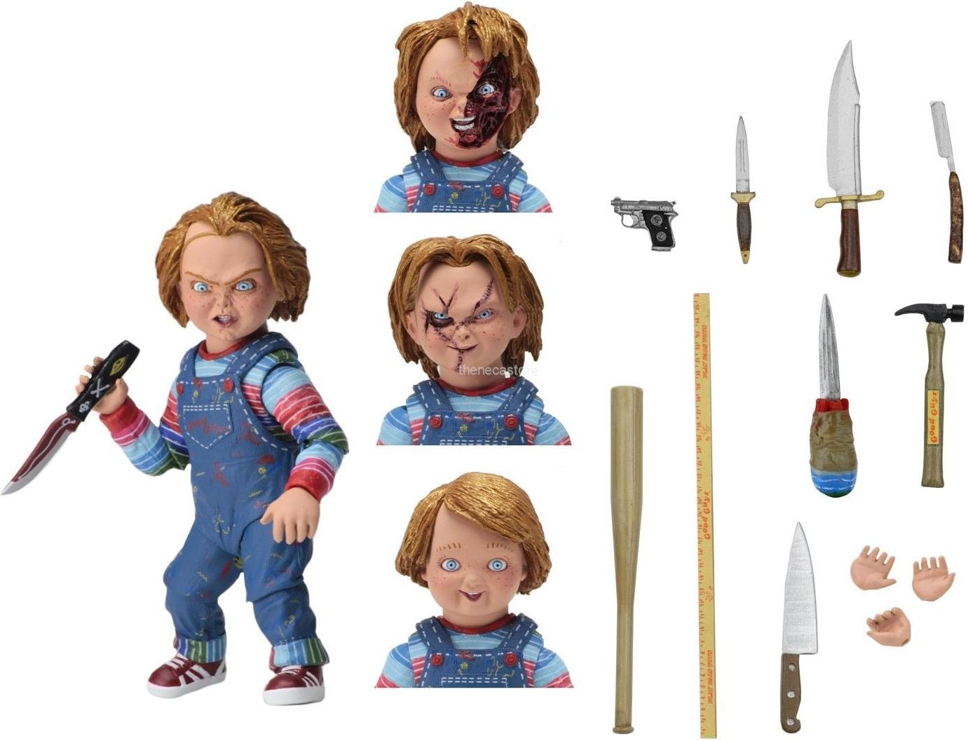 NECA Chucky 4 inch Figure - Ultimate Chucky NECA, Chucky, Action Figures, 2017