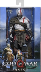 NECA God of War 8 inch Figure - Kratos NECA, God of War, Action Figures, 2018, military, video game