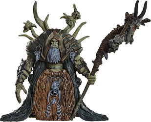 JAKKS Pacific 2016 Warcraft 6 inch Figure - Gul`dan JAKKS Pacific, Warcraft, Action Figures, 2016, fantasy, video game