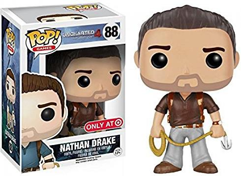 FunKo POP! Uncharted 4 inch Figure - 88 Nathan Drake FunKo POP!, Uncharted, Action Figures, 2018, adventure, video game