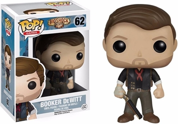 FunKo POP! Bioshock 4 inch Figure - 62 Booker DeWitt FunKo POP!, Bioshock, Action Figures, 2018, scifi, video game