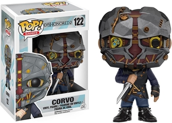 Funko POP! Dishonored 4 inch Figure - 122 Corvo Funko, Dishonored, Action Figures, 2018