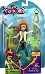 Playmates Mysticons 6.5 inch Figure - Arkayna (green) Playmates, Mysticons, Action Figures, 2017