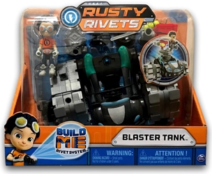 Spin Master Rusty Rivets Set - Blaster Tank Spin Master, Rusty Rivets, Action Figures, 2018