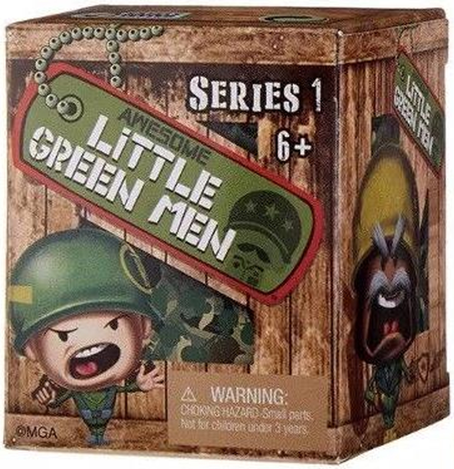 Awesome Little Green Men Series 1 Blind Box 2 inch Figure - 11045-10982CCCVFM