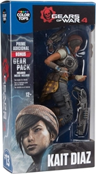 McFarlane Gears of War 7 inch Figure - 13 Kait Diaz McFarlane, Gears of War, Action Figures, 2016, scifi, video game
